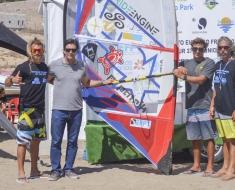 DAVIDE ZILLI FARE SOSA MATTIA FABRIZI VICTOR SOSA EFPT Fuerteventura 2018-