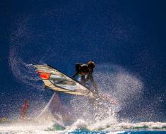 Vanora Engadinwind by Dakine 2020, Silvaplana, Switzerland.  European Freestyle Pro Tour Windsurf Freestyle Tow-in Contest. 21 August, 2020  © Sailing Energy / Engadinwind 2020