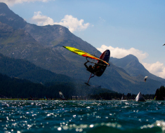 Vanora Engadinwind by Dakine 2020, Silvaplana, Switzerland.  Formula Foil World Championship.  With a record field of participants, It is the most important and largest foil competition in 2020 with 200 participants from 33 nations. 21 August, 2020  © Sailing Energy / Engadinwind 2020