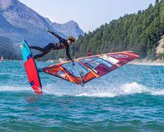 Vanora Engadinwind by Dakine 2021, Silvaplana, Switzerland. EFPT tow-in