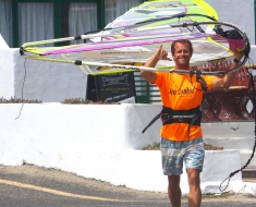 Antxon Otaegui - ready to hit the water