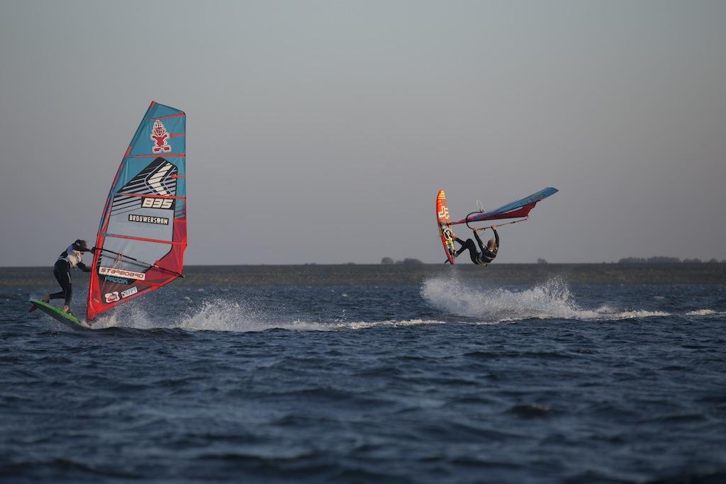 Dieter Van der Eyken and Amado Vrieswijk in the final