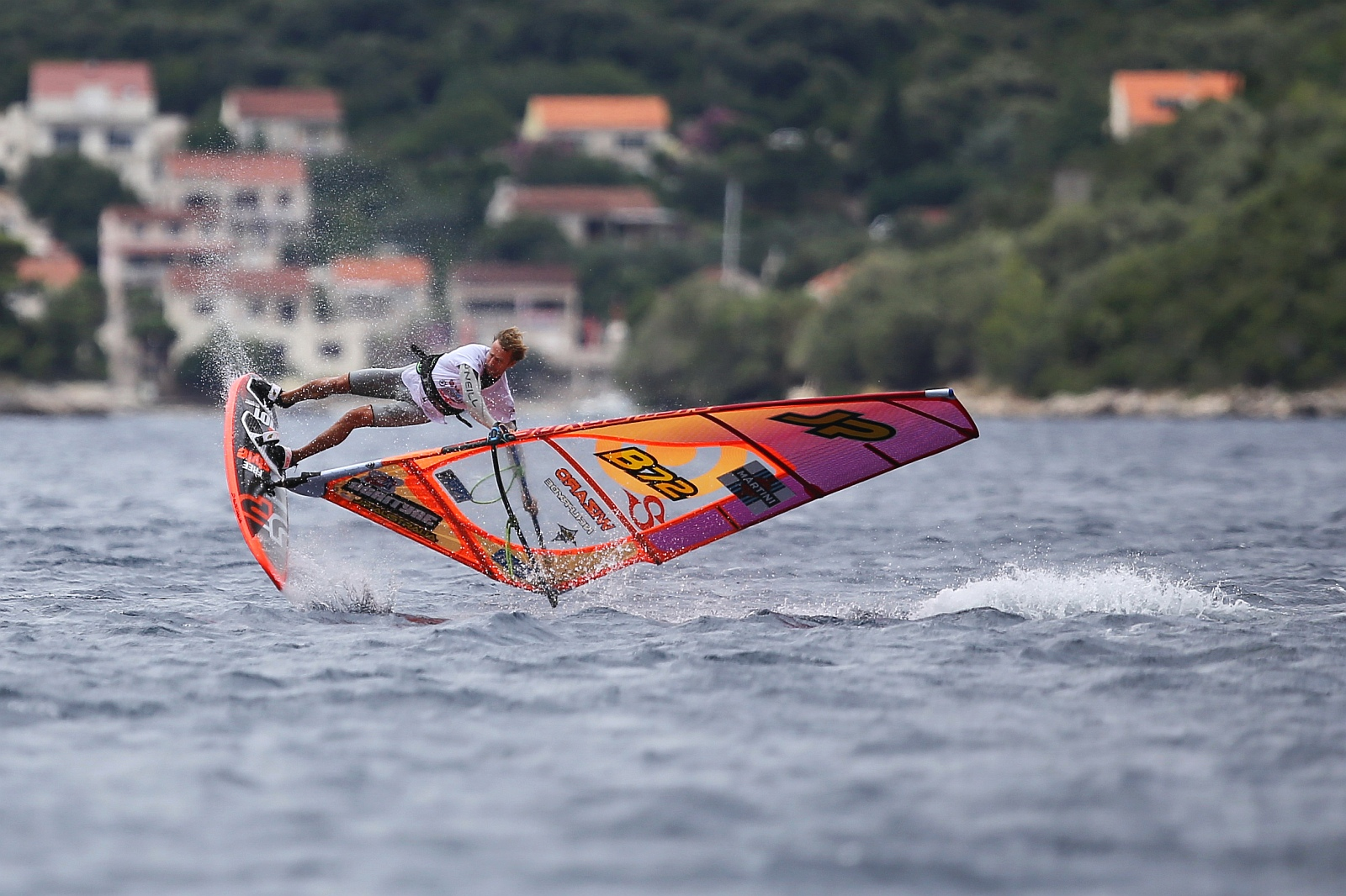Windy days at the Martini EFPT Croatia in August